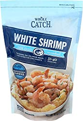 Whole Catch Frozen White Shrimp, Peeled and Devined