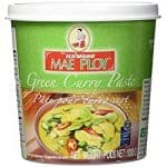 jar of mae ploy green curry paste