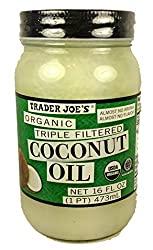 Trader Joe's Organic Triple Filtered Coconut Oil
