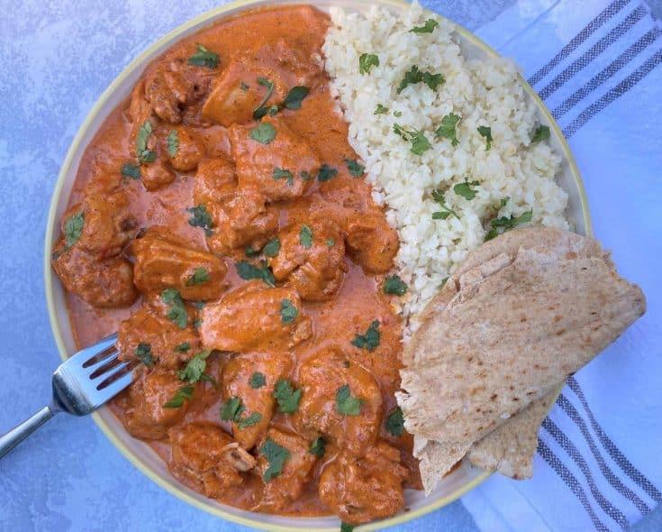 Easy Keto Chicken Tikka Masala