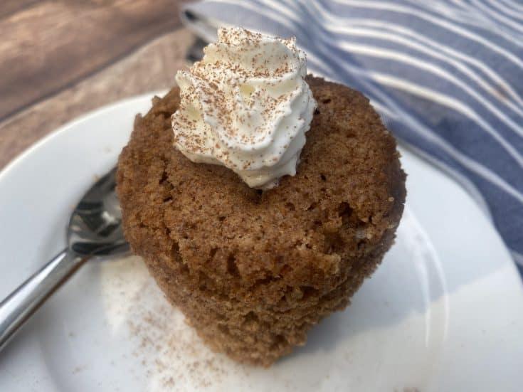 The Best Keto Chai Mug Cake