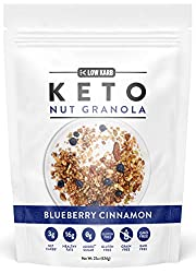 Low Karb - Keto Blueberry Nut Granola