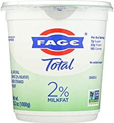 Fage Fat Free 2% Greek Yogurt
