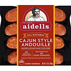 Aidells Smoked Pork Sausage, Cajun Style Andouille