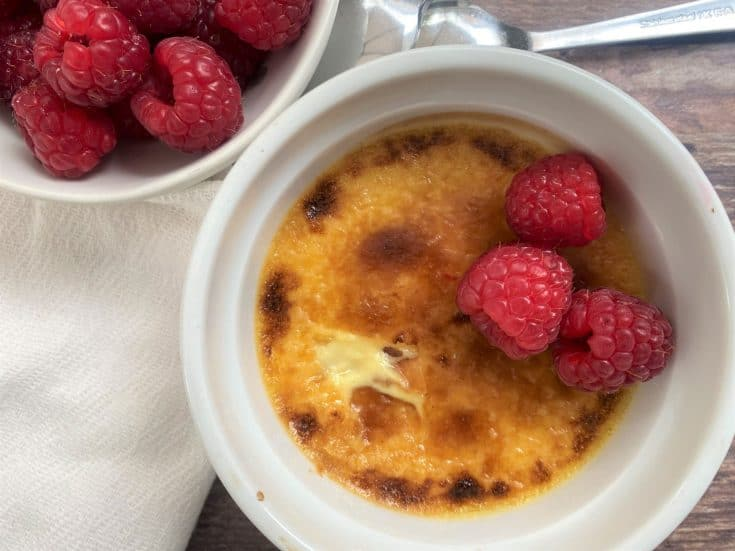 Easy Lemon Crème Brûlée (Low Carb / Keto)