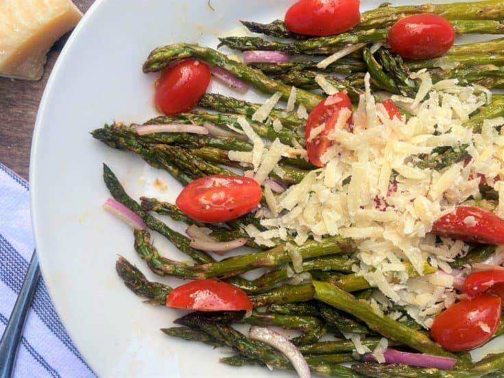 Simple Roasted Asparagus Salad